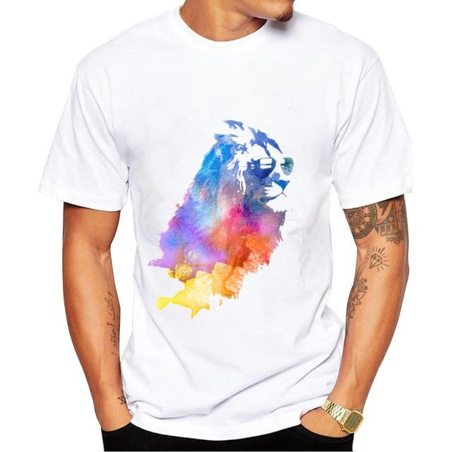 0c81ba56 Brand man t shirt 2017 New Casual summer T-shirt o-neck Men's fashion Trend  Printed Short sleeve High-quality Swag tshirts Homm