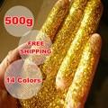 El arte Y la Artesanía En Polvo Pintura punto de Cruz Flash Purpurina Brillante Perla De Neón Polvo de Oro de Navidad