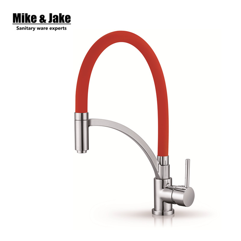 Colorful Chrome Finish Kitchen faucet pull down Sink Faucet Deck Mount Pull Out crane Sprayer Nozzle Hot Cold Mixer Water Taps chrome pull down bathroom kitchen taps single handle brass hot and cold kitchen sink faucet stream sprayer washing crane faucet
