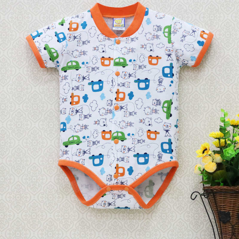 2019 baby girl summer bodysuit children fashion pure cotton jumpsuit toddler infant underwear sleepwear newborn kidswear