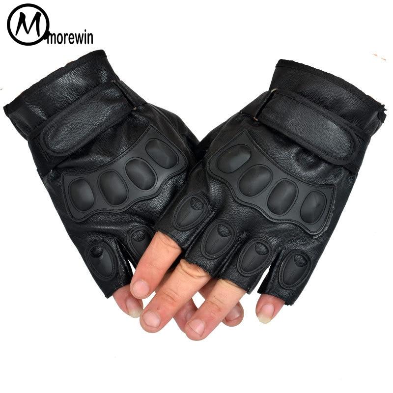 Morewin 2018 Lovely Party Felnőtt Taktikai Kesztyű Finger Ujj PU - Ruházati kiegészítők