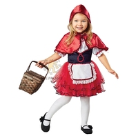 Girls LIL Red Riding Hood Costume