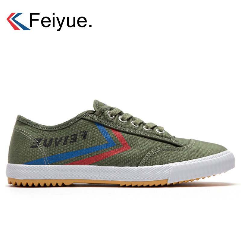 Feiyue Jogging Shoes For Men Chinese Original Sneakers Kunfu Shoes Martial Arts Taichi Taekwondo Sports Sneakers Walking Shoes