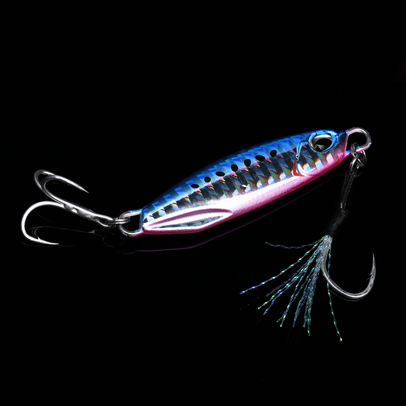ALLBLUE New DRAGER Metal Cast Jig Spoon 15G 30G Shore Casting Jigging Lead Fish Sea Bass Fishing Lure  Artificial Bait Tackle 4