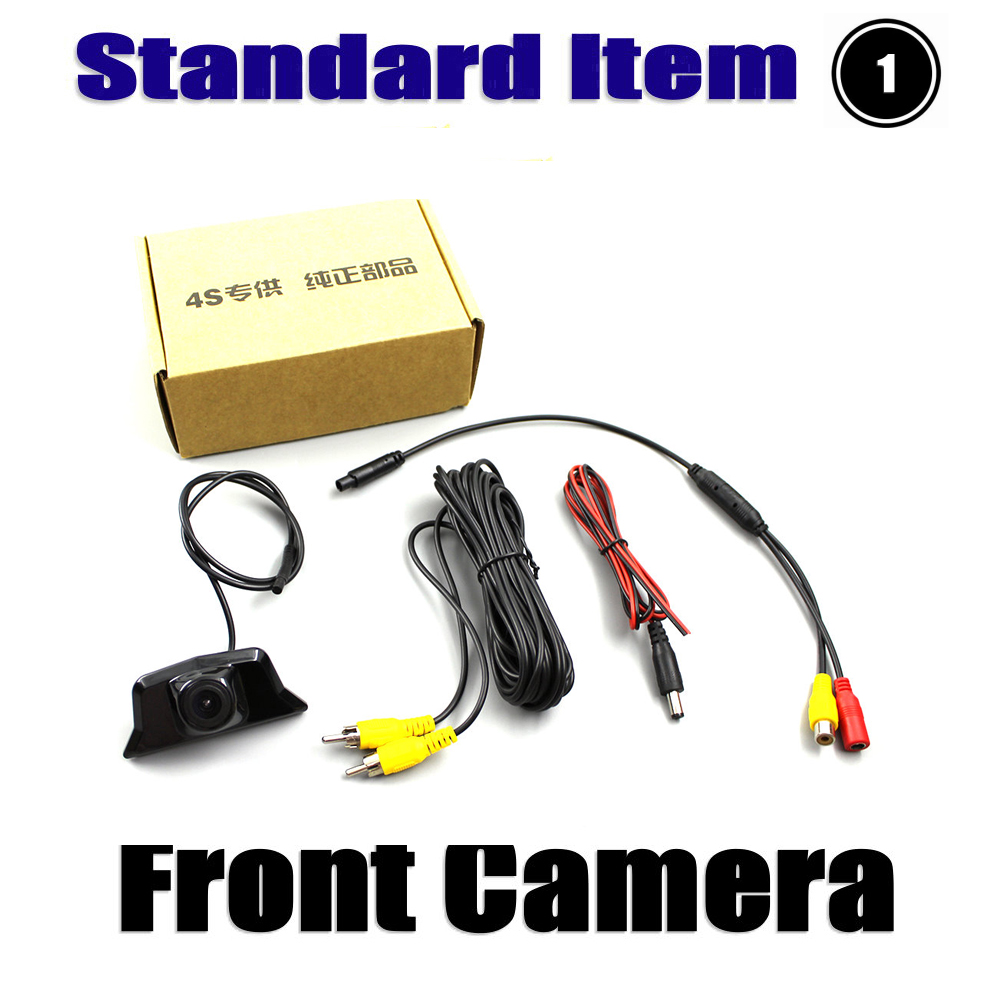Liandlee AUTO CAM Car Front View Camera Logo Embedded For Cadilac XT5 2016 2017 Not Reverse Rear Parking Camera in Vehicle Camera from Automobiles Motorcycles