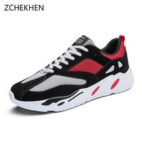 Lovers Casual Shoes Autumn Lace Up Style Comfortable Breathable Mesh Kanye West Fashion Man Shoes 700