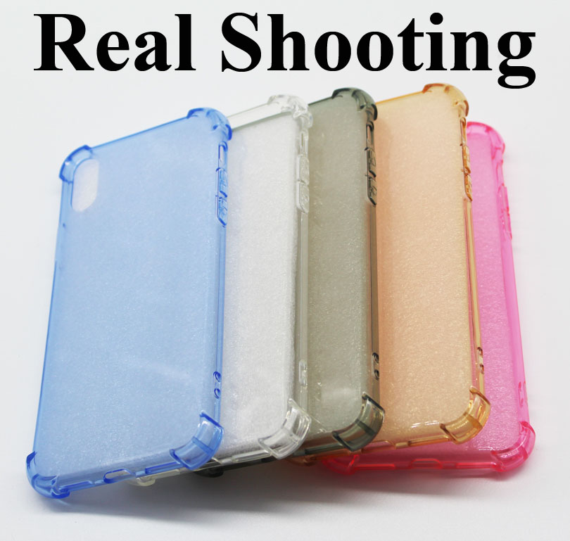 Super Shockproof Clear Soft Airbag Case for iPhone 6 X 6S 7 8 Plus 6Plus 6SPlus 7Plus 8Plus Silicon Luxury Cell Phone Back Cover