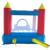 Sea world yard envío libre gorila inflable castillo hinchable con tobogán para los niños ejercitan