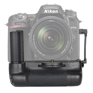 Image 2 - Capsaver 垂直ニコン D7500 カメラプロフェッショナルマルチパワーバッテリーハンドグリップ EN EL15 で動作