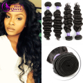 8A Premium Maxglam Hair Products Malaysian Virgin Hair Loose Body Wave More Wavy Style 4Pcs Lot Human Hair Weave christmas