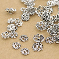 Vintage 925 de plata hallazgos Beads Cap joyería casquillo del grano accesorios de la joyería DIY
