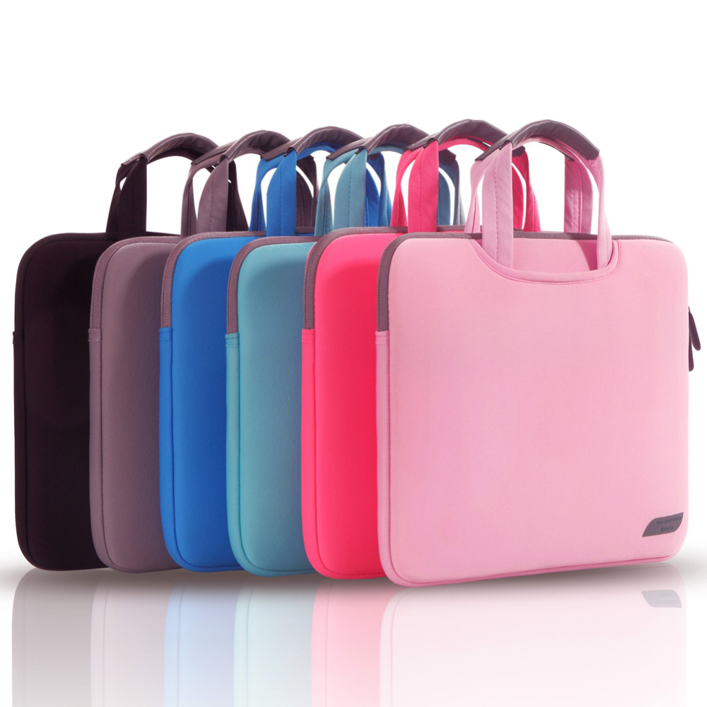Cartinoe Multicolor Soft Laptop Sleeve 11 13 15 15.6 inch Laptop Bag Case For Macbook Air 13 Pro Retina 15 Notebook Bags