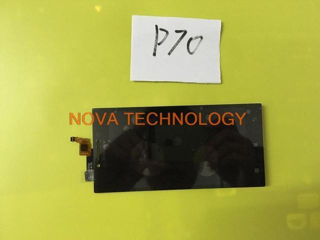 P 70 peças para lenovo p70 toque substituição painel digitador + lcd assembléia screen display; com número de rastreamento