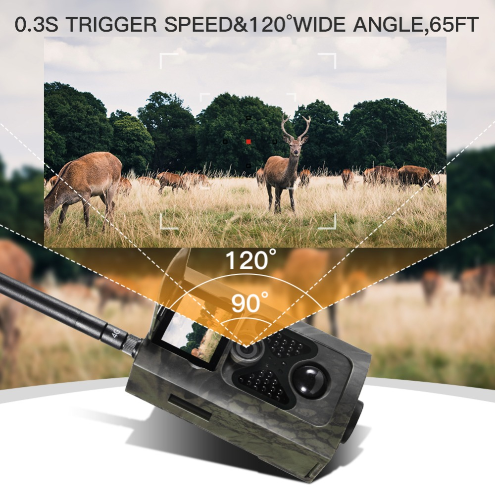 Image 4 - SUNTEKCAM HC 550LTE 4G Trail Camera Hunting 16MP Photo Video Tracking Game Cameras Email MMS SMS IR Camera Trap Hunting Camera-in Hunting Cameras from Sports & Entertainment