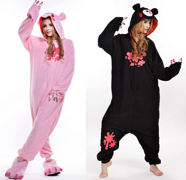c70aa7036add New Cartoon pajamas Violent bear one piece Pajama