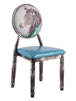2Retro Home Dining Chairs Hotel Reception Chairs Upholstered Chairs For Cafeteria/bedroom/living /patio/makeup/manicure