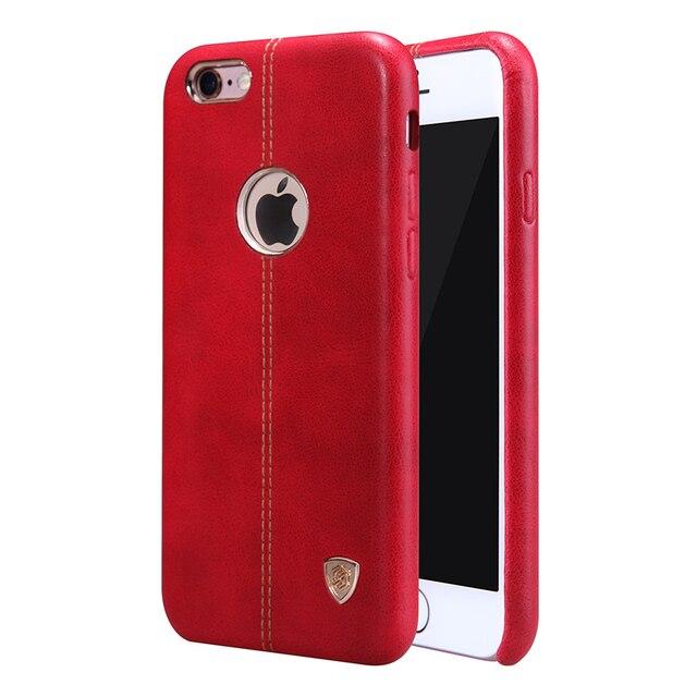 Nillkin Винтаж кожа корпус Englon ИСКУССТВЕННАЯ Кожа обложка Чехол для iPhone 6 6 S (4.7 '') 6 плюс (5.5'') fit автомобильный держатель магнитный