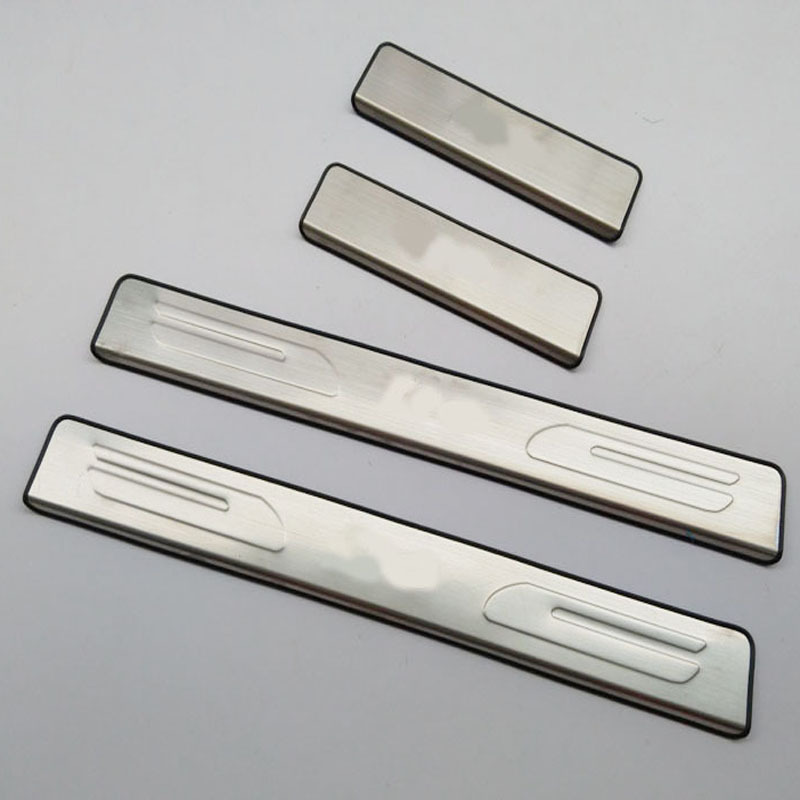 Free shipping For hyundai i10 2008 2010 2015 stainless steel door sill strip i10 welcome pedal car accessories 4pcs car Styling v italia сандалии