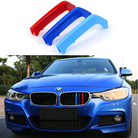 3d Motorsport Front Grille Trim M Performance Strips Grill Cover Decoration Stickers For Bmw 3 Series F30 F31 F35