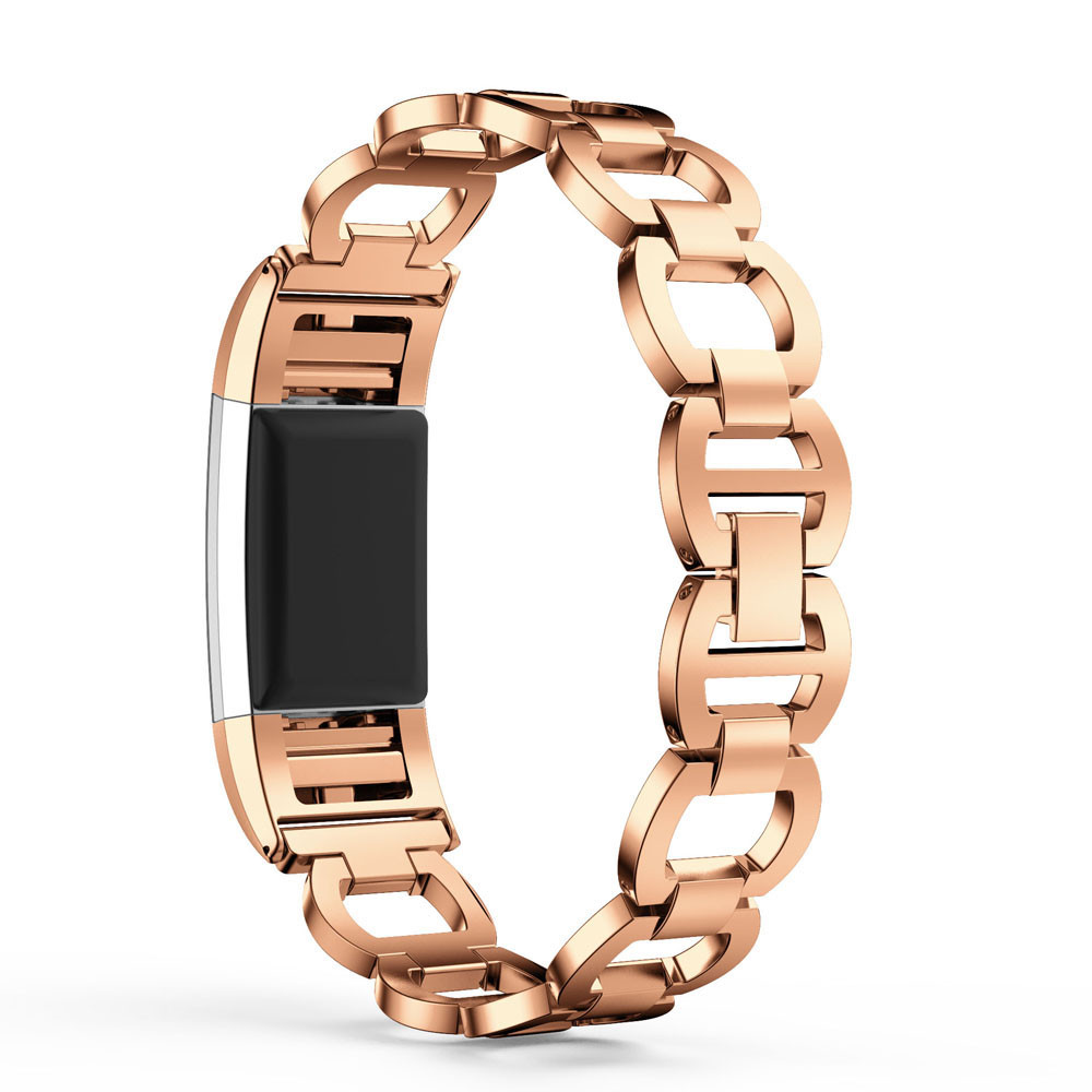 xiniu Luxury Brand Hollow Metal Watch Bracelets Genuine Stainless Steel Bracelet Smart Watch Band Strap For Fitbit Charge 2 quality bracelet stainless steel strap 18mm for fitbit charge 2 smart watch metal band with adapter
