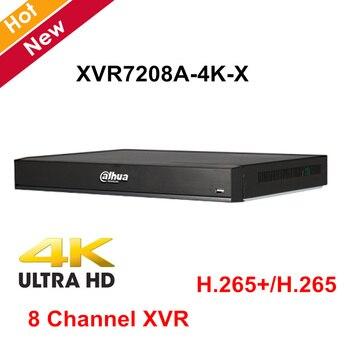 Dahua 8 canal Penta-brid 4 K 1U grabadora de Video Digital XVR7208A-4K-X H.265 +/H.265 apoya HDCVI/ AHD/TVI/CVBS/IP entradas de vídeo
