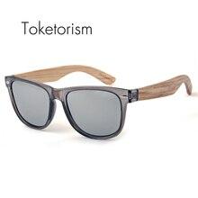 2016 Wood sunglasses Polarized handmade wooden sun glasses Transparent Gray Frame for men women 1051