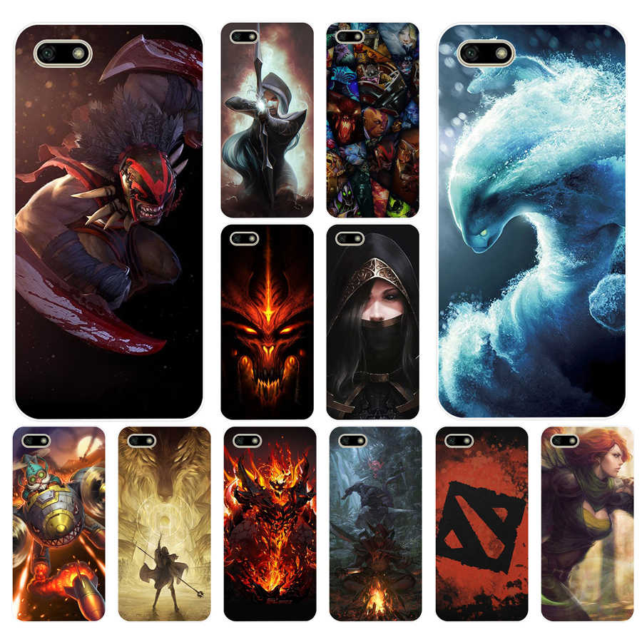 114FG dota 2  Soft Silicone Tpu Cover Case for huawei Honor 7a 5.45 pro 5.7 7c 7x y5 2018 case