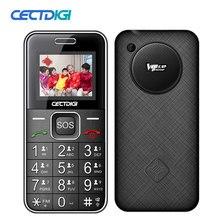 Kıdemli Rus Cep Telefonu 2G GSM yaşlı yaşlı adam Cep Telefonu Bluetooth Çift SIM Kart SOS Düğme Güçlü Meşale FM ucuz cep telefonları