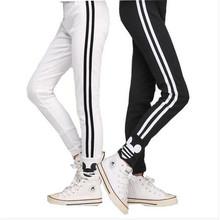 Ywstt 2017 jesienne dziewczęce legginsy spodnie bawełniane dla dziewczynek legginsy sportowe dziewczęce ubrania 3-12 lat tanie tanio spandex COTTON CN (pochodzenie) skinny Dziewczyny PATTERN Pełnej długości Pasuje prawda na wymiar weź swój normalny rozmiar