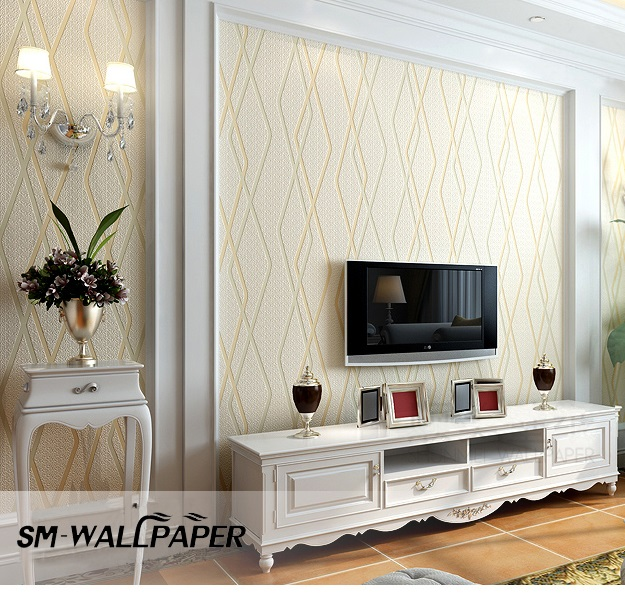 High Quality New Background Board 3d Line Wallpaper For Interior Decorative Wall Coverings Art Murals Home