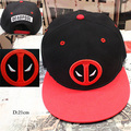 2016 Movie Deadpool Cosplay Hats Adjustable Embroidery Adult Unisex Hip Hop Baseball Caps 3 Styles