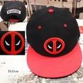 2016 Movie Deadpool Cosplay Hats Adjustable Embroidery Adult Unisex Hip Hop Baseball Caps 3 Styles