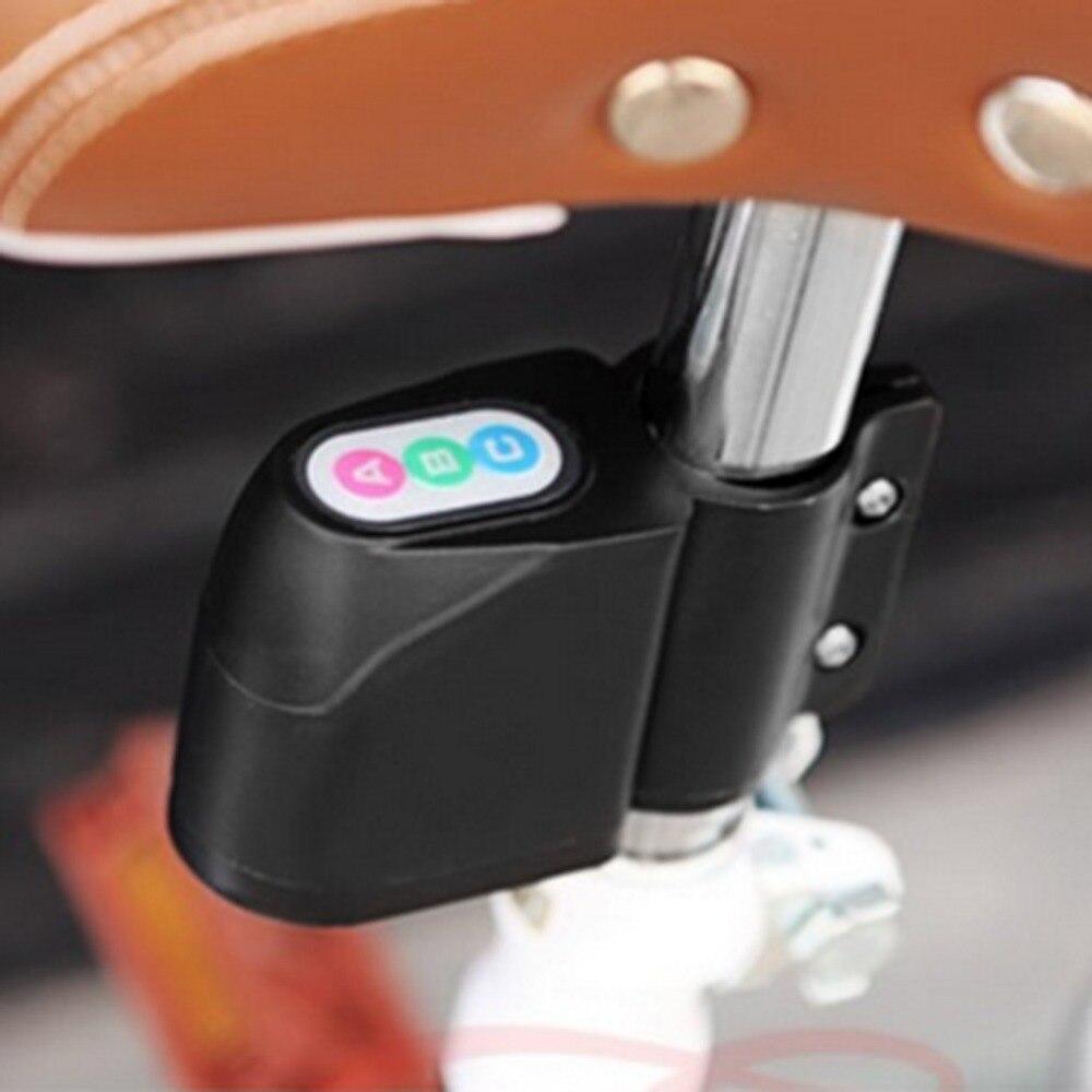 где купить Bicycle Motor Bike Alarm Lock Waterproof Anti-theft Guard Burglar Alarm ABC Password Security Alarm Sound Safety Lock дешево