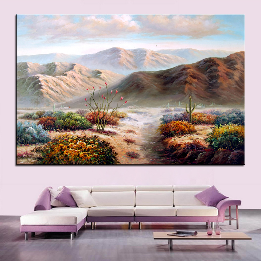 Extra Large wall Painting of wonderland Home Office Decoration paint Canvas Prints No Framed Canvas wall picture Giclee art no frame canvas