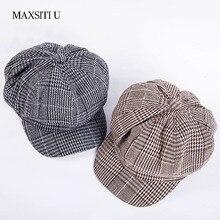 MAXSITI U Весна newsboy шапки Женская мода шляпа для отдыха