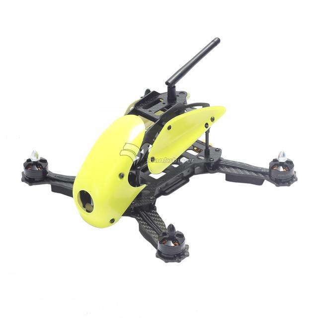 $ Number Ejes de Fibra De carbono Marco Robocat B270 270mm Racing Mini Quadcopter con Cubierta de La Capilla para FPV