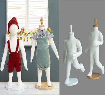 Fashion Style Child Model Flexible Child Mannequin For Display Hot Sale