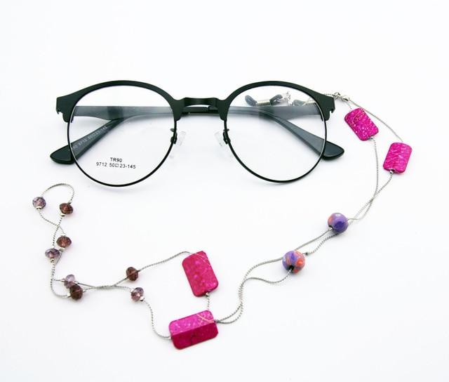 Femmes Vintage De Mode Pierres anti slip Lunettes Chaîne Cordon Lunettes  lunettes de Soleil Lunettes De 59b5ec10b6a7