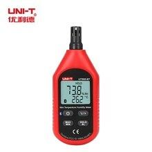 UNI T UT333BT Bluetooth מיני LCD דיגיטלי אוויר טמפרטורת לחות מד מדחום מדדי לחות מד Tester UT333 שדרוג
