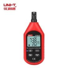 UNI T UT333BT 블루투스 미니 LCD 디지털 공기 온도 습도 미터 온도계 습도계 게이지 테스터 UT333 업 그레 이드