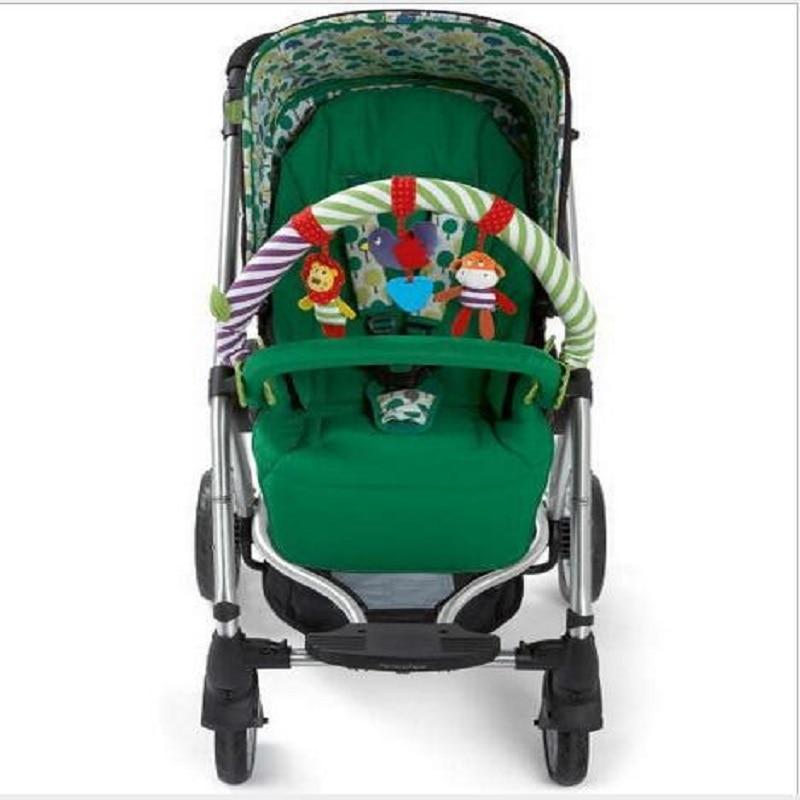 0-12 Måned Baby Mobil Musisk Seng Spill Barnevogn Dreiebenk Seat Ta - Baby og småbarn leker - Bilde 5