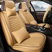 (Front + Rear) Leather car seat covers For BMW F06 F12 F13 640i 650i M6 640d E63 E64 630Ci 630i car accessories auto styling