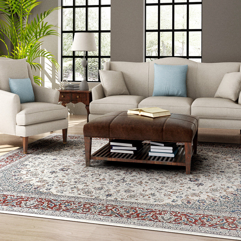 Persian Carpet Livingroom Romantic Turkey Bedroom Carpet Sofa Coffee Table Rug Study Room Floor Mat Rectangle Rugs And Carpets