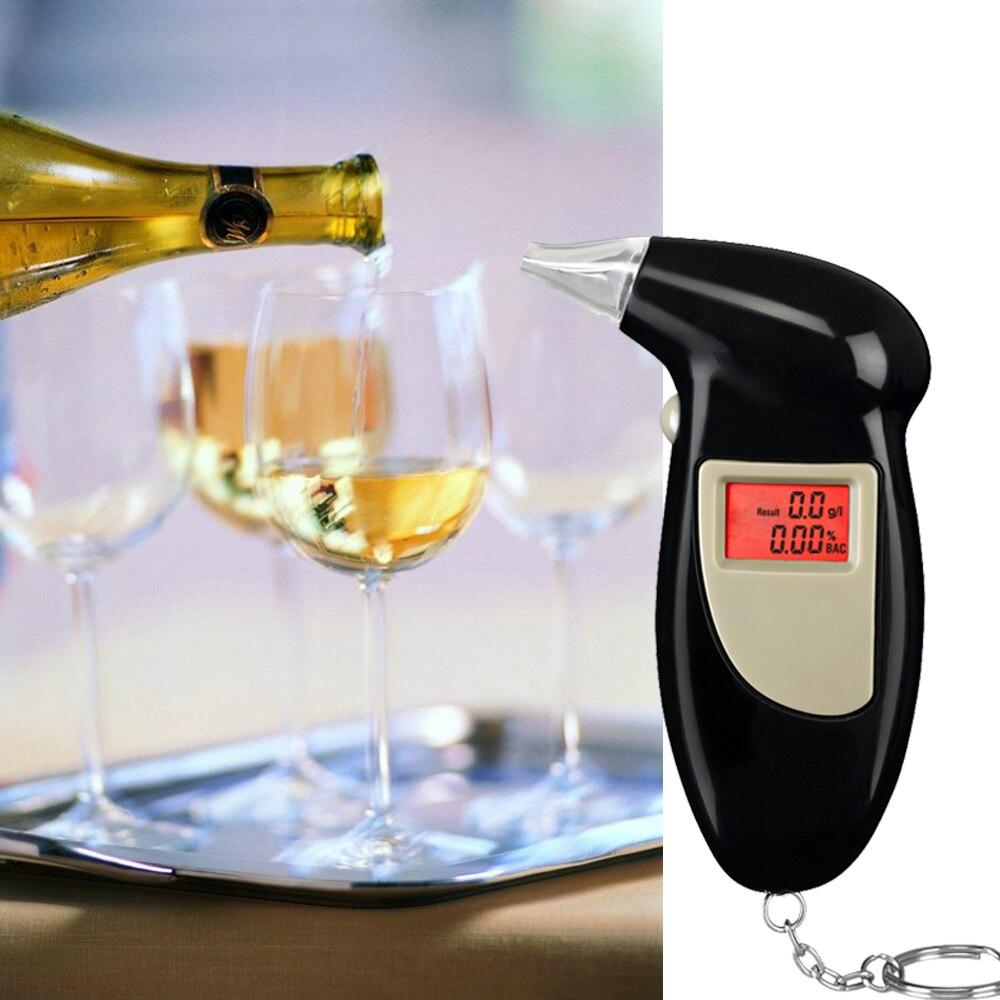 GREENWON HUALIXIN digitale chiave chian Etilometro, breath alcohol tester per auto accessori