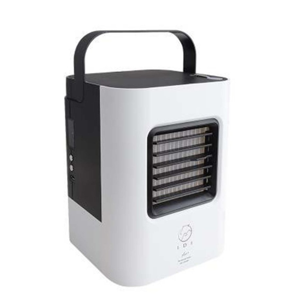 цена USB Cooling Fan Portable Size Air Cooler Air Personal Space Cooler Compact Mini Air Conditioner Device for Home Office