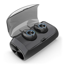 V6 TWS Bluetooth Earphones Wireless In-ear Earbuds BT 5.0 Stereo Earbud Life Waterproof Headset with bess Charging Box
