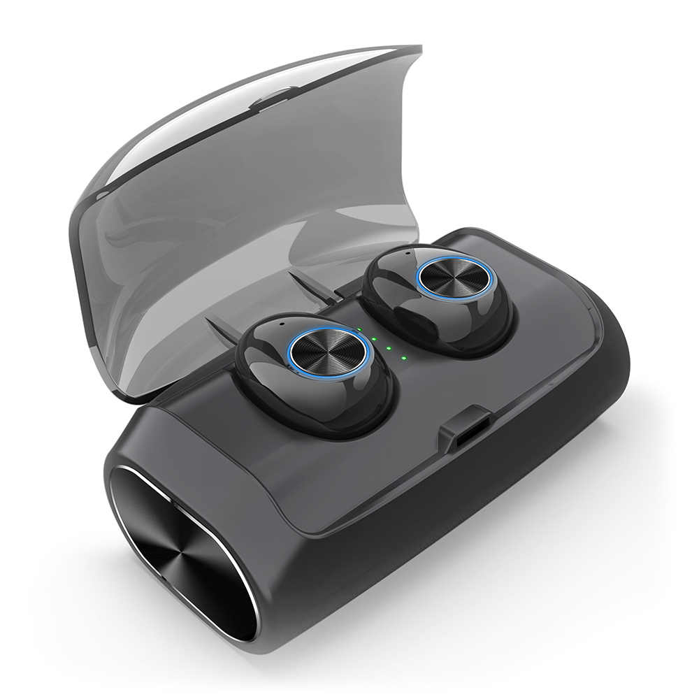 V6 наушники-вкладыши TWS Bluetooth наушники Беспроводной в уши, наушники в уши BT 5,0 стерео наушник жизнь Водонепроницаемый Беспроводной гарнитура с Бесс зарядным устройством