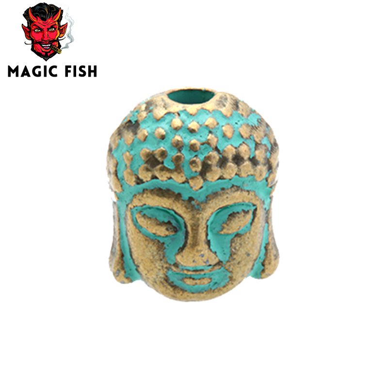 Beads & Jewelry Making Glorious Magic Fish Vintage Copper Beads Buddha Head Spacers Bead Charms Diy For Jewelry Making Bracelets&bangles Wholesale Accessories Jewelry & Accessories