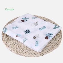 Muslin Baby Swaddling 100%Cotton Newborn Infant Blanket Swaddles Gauze Bath Towel Newborns Receiving Blankets