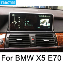For BMW X5 E70 2007~2010 CCC Android IPS car Multimedia player original Style Auto radio gps navigation WiFi BT Bluetooth 10 25 inch 32g rom android 7 1 system car gps navigation media stereo radio for bmw x5 e70 x6 e71 2007 2010 with ccc system